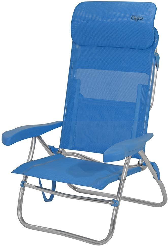 Silla Playa 7 POS.223-C C//05 Azul Claro