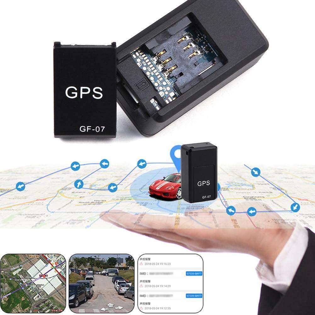 TiooDre Localizador GPS,GF-07 GPS - Sistema de localización de rastreador de coche/coche / persona para niños mayores y mascotas