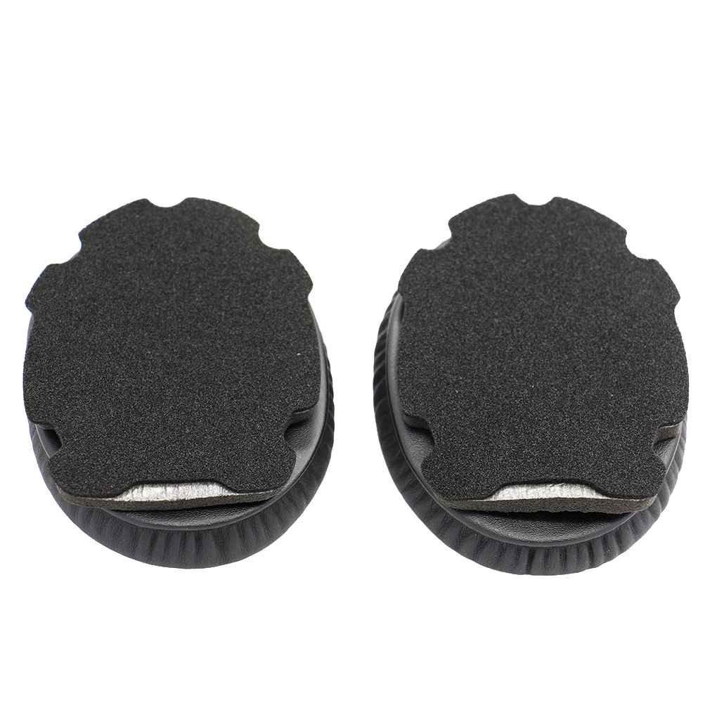 Bobury 1 Paar Weiche Schwamm-Ersatzohrpolster Earpad Kissen Protein Leder Ohr-Abdeckung f¨¹r Bose Aviation Headset X A10