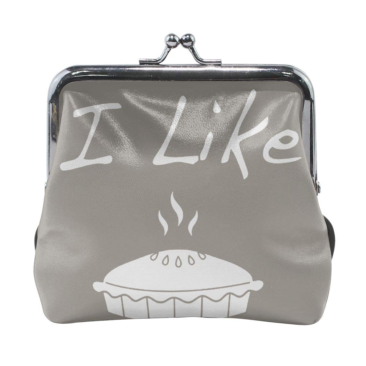 Exquisite I Like Pie Credit Cards Buckle Coin Purse For Womens
