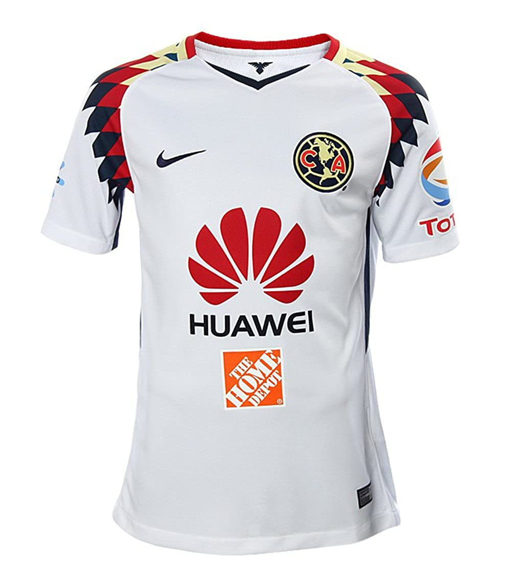 47c47c2f Amazon.com: Nike Youth Club America Away Soccer Stadium Jersey 2017-18:  Clothing