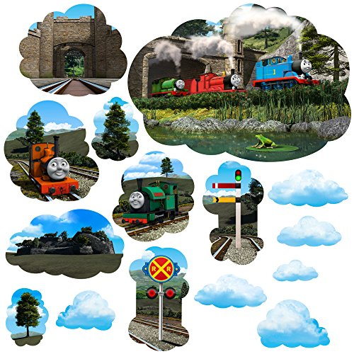 - Thomas & Friends Large Mural Wall Decal Set