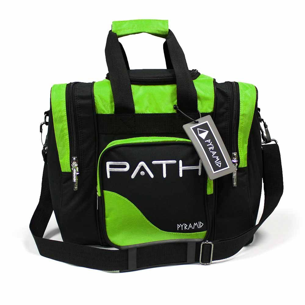 Pyramid Path Pro Deluxe Single Tote - Black/Lime Green by Pyramid