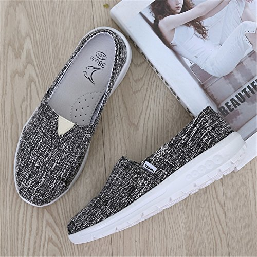 Fall Women's Shoes Spring Mesh Athletic XUE Ons C Loafers Shoes Shoes Sneakers Loafers Flat Shake Shake Comfort Platform Shoes amp; Fitness Casual Shoes Driving Shoes Shaking Slip Shoes xIFqFtd