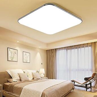 ETiME® Ultraslim LED Deckenleuchte 12W Deckenlampe Modern Wohnzimmer ...