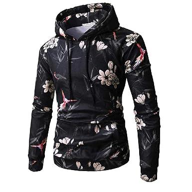 Binggong Herren Shirt,Persönlichkeit Männer Herbst Winter