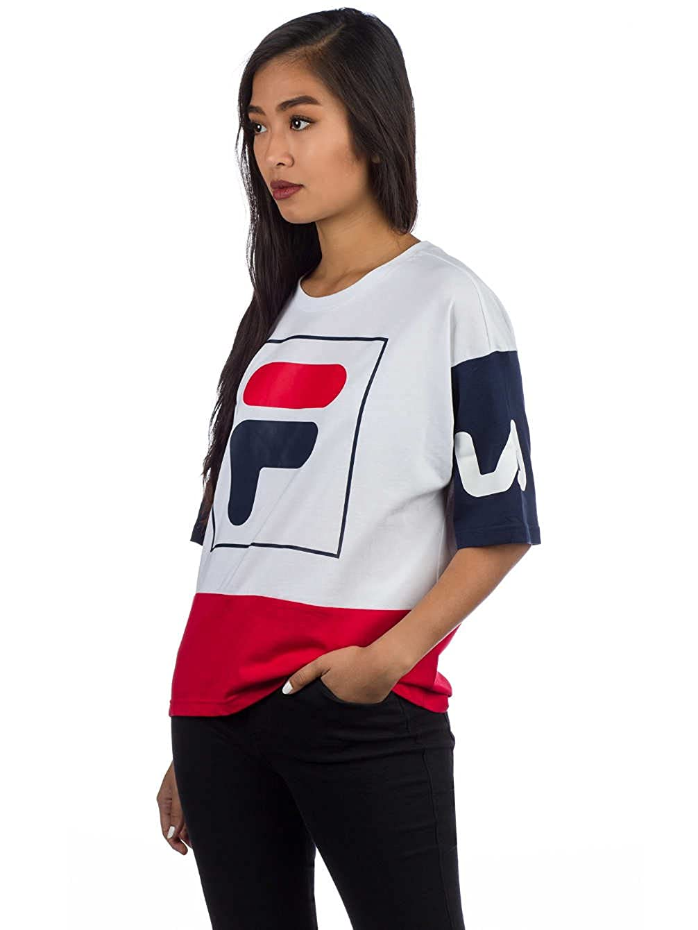 Fila Late Cropped W T-Shirt MainApps