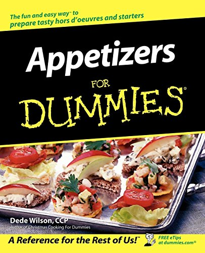 Appetizers For Dummies by Dede Wilson