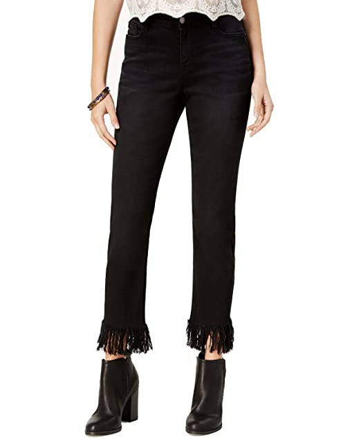 a28e6072bbd3d Black Daisy Women's Kate Straight Leg Jean at Amazon Women's Jeans store
