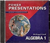 McDougal Littell Algebra 1, MCDOUGAL LITTEL, 0618353321