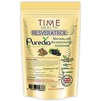 Trans Resveratrol Supplementen – Polygonum Cuspidatum – Premium Merk Puredia – 180 Capsules – 250mg – Voor 3 Maanden…
