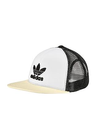 adidas T H Trucker CA Gorra de Tenis, UN, Negro/Blanco/SOLNEB, OSFM