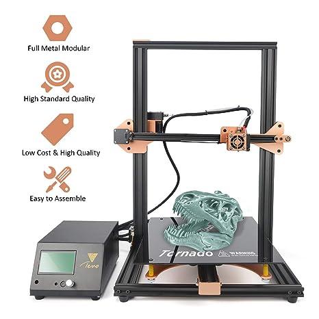 TEVO Tornado Impresora 3D, kit de extrusión de aluminio montado ...