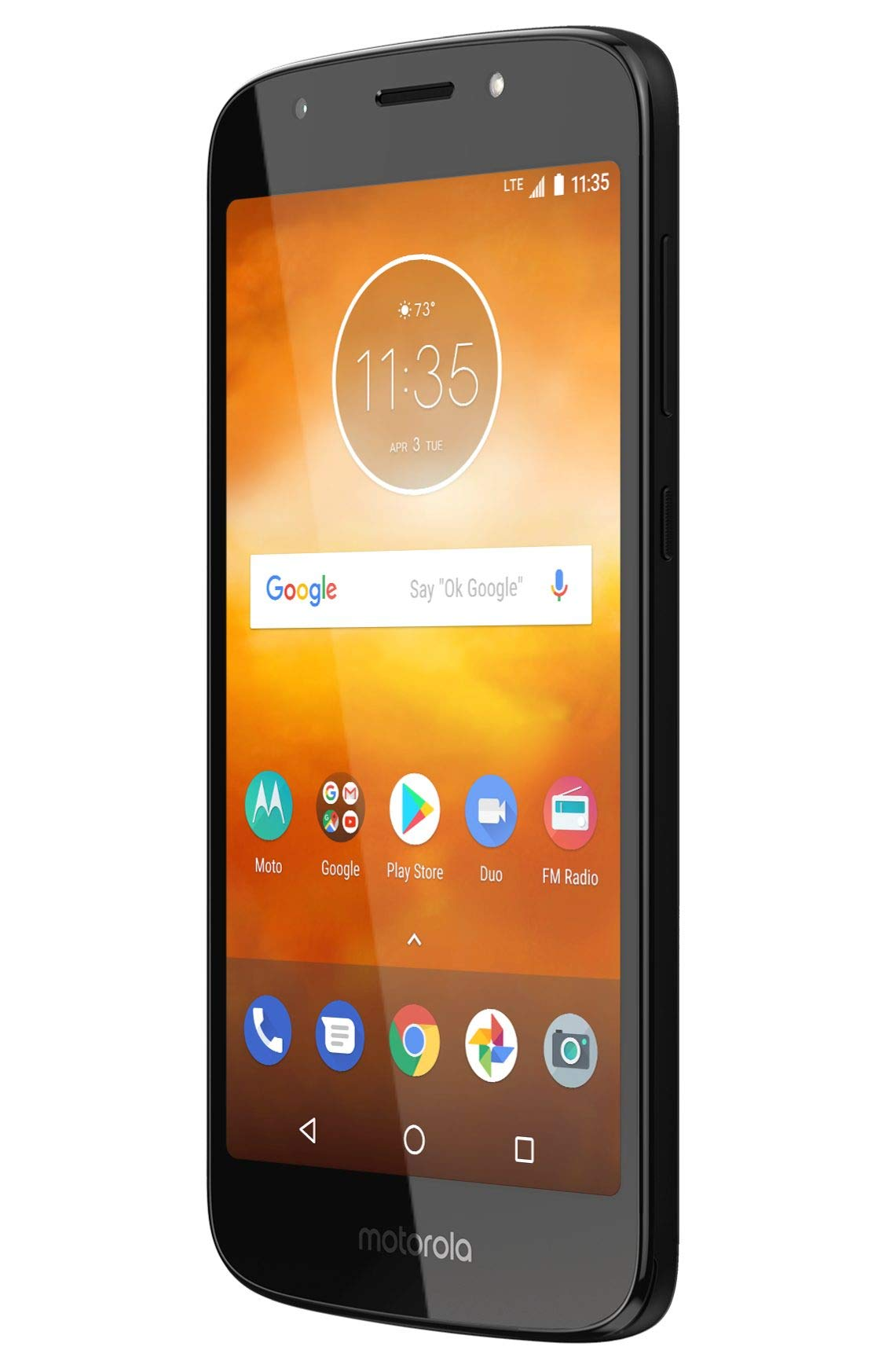 Motorola Moto E5 Play XT1920-19 Factory Unlocked 16GB Dual SIM 1GB RAM 4G LTE 5.3'' LCD Display 8MP International Version (Black) by Motorola (Image #3)