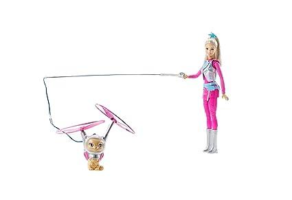 Amazon.es: Barbie - Muñeca Fashion, Mascota voladora Aventura en ...