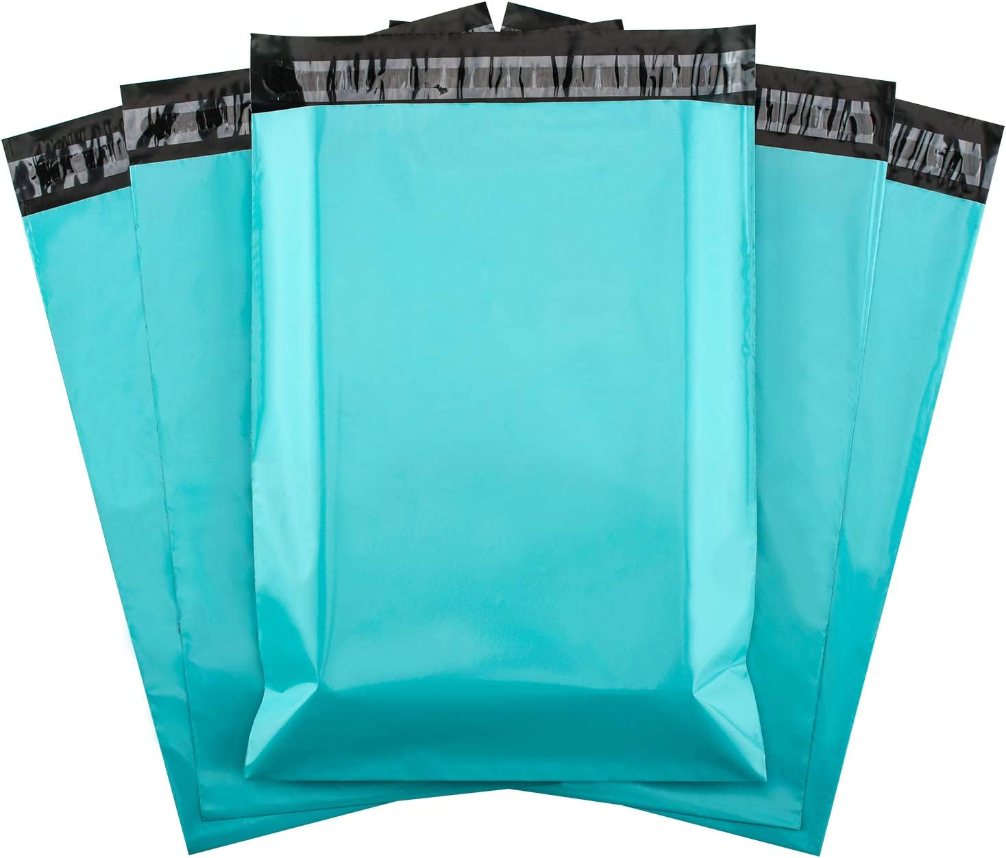 Metronic Poly Mailers 12x15.5 Envelope Mailers 100pack Shipping Bags with Self Adhesive Waterproof and Tear-Proof Postal Bags in Teal : Office Products