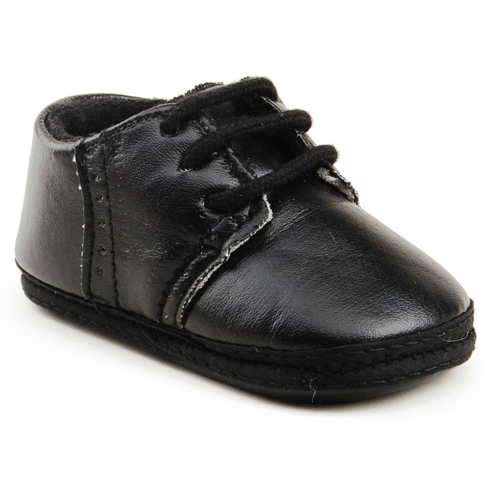 OOSAKU Zapatos para bebés recién Nacidos Zapatos para Caminar Primeros Zapatos Deportivos de Cuero con Suela Blanda