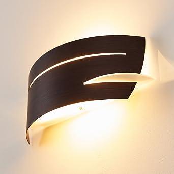 Metall Lampe Fr Die Wand Mit Struktur Effekten Wandleuchte Den Flur