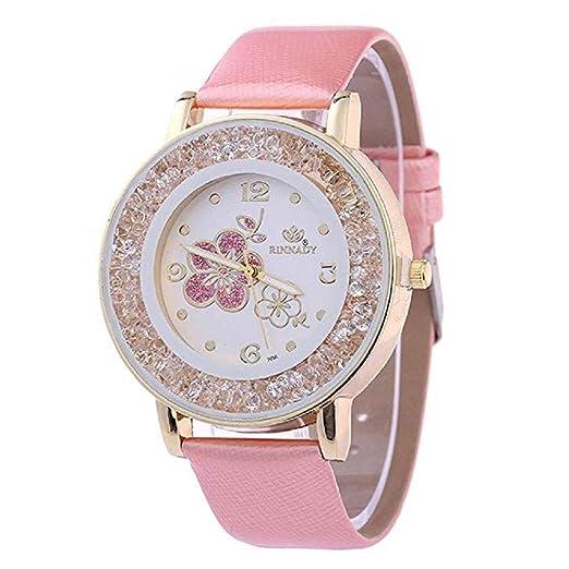 ¡Promoción Relojes de Cuarzo para Mujer, señoras, Chicas Adolescentes, Moda Minimalista,