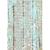 Cadence Papel de Arroz Texto sobre Madera 30x41cm