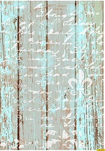 Carta Di Riso Su Legno.Carta Di Riso Decoupage Cadence Scritta Su Legno 30 X 41 Cm