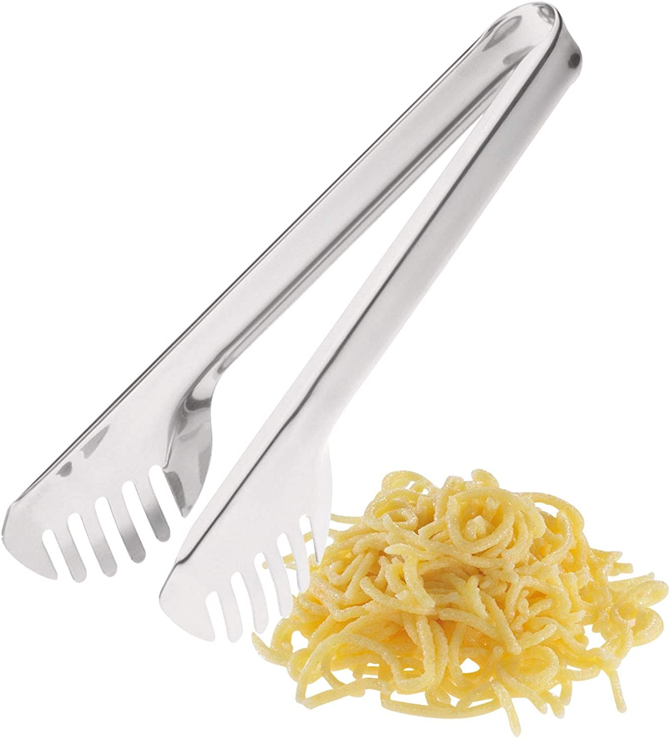 Westmark Salad-/Pasta Serving Tongs, 23.8 x 5.2 x 2.2 cm, Stainless Steel