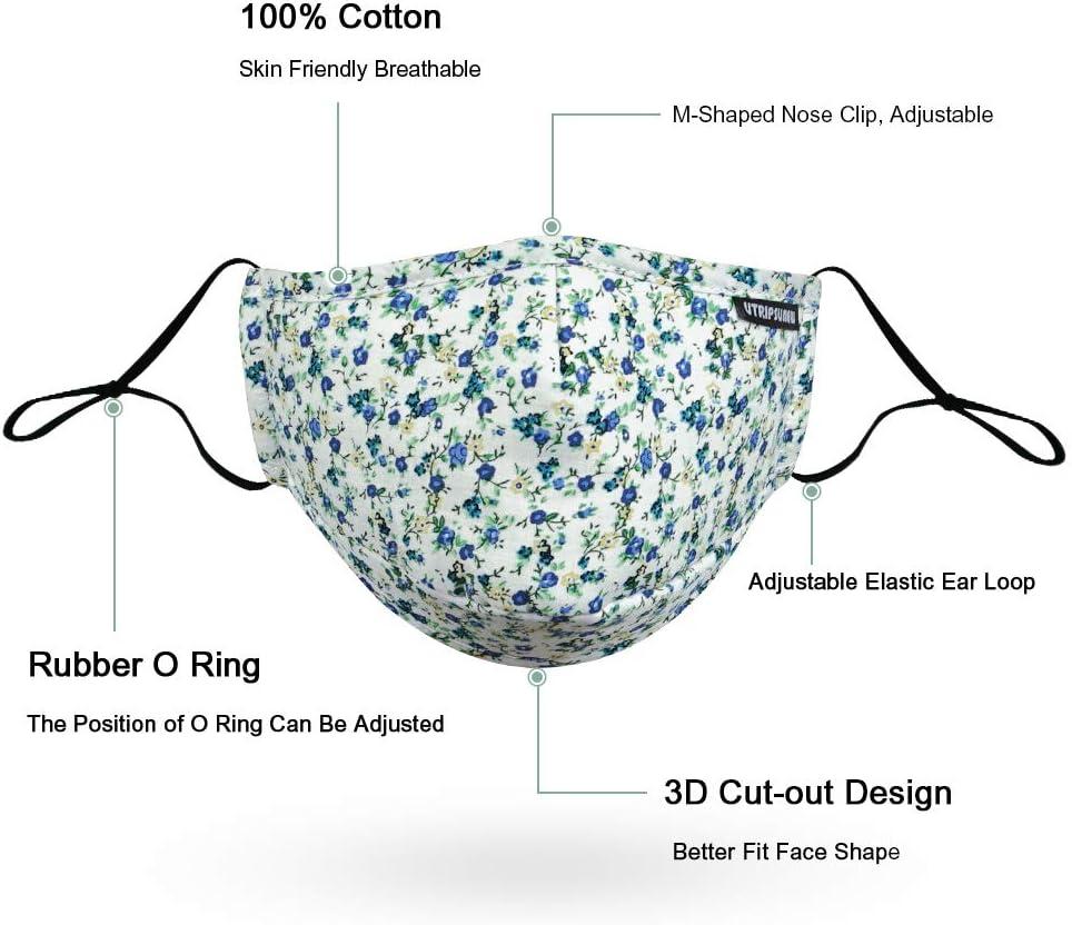 PM2.5 M/àsk 1pcs+10pcs Protection from Dust Pollen Washable Cotton Pet Dander Other Airborne Irritants Reusable Cloth M/àsk Include filter