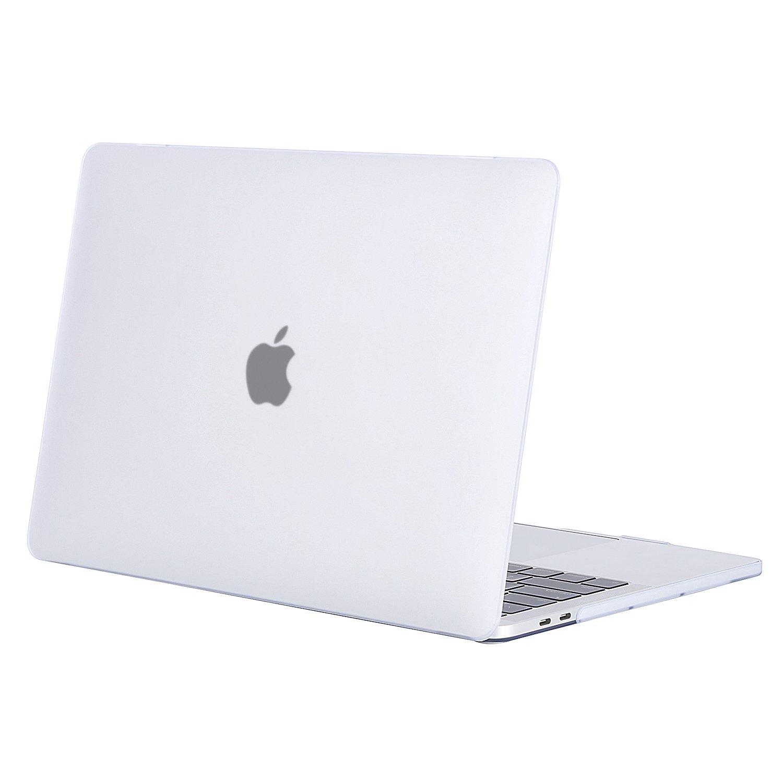 MOSISO Funda Dura Compatible 2018 2017 2016 MacBook Pro 15 Pulgadas con Touch Bar A1990 / A1707, Ultra Delgado Carcasa Rígida Protector de Plástico ...