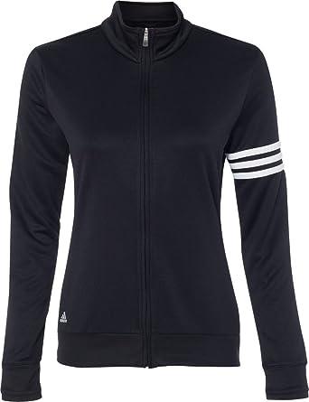 A191 Climalite 3 Éclair Femme Adidas Pull Fermeture Pour Stripes 7Ybgyf6