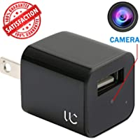 [2019 Edition] Hidden Camera USB Phone Charger – 1080P HD Video Recording with 32GB Memory & Motion Detection – Nanny Spy Cam for Professional Surveillance