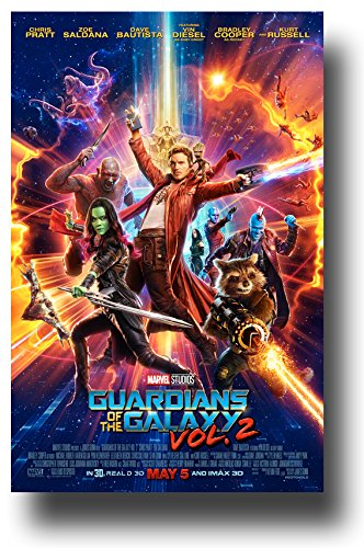 Guardians Of The Galaxy Vol 2 Poster   2017 Movie Volume Chris Pratt Main