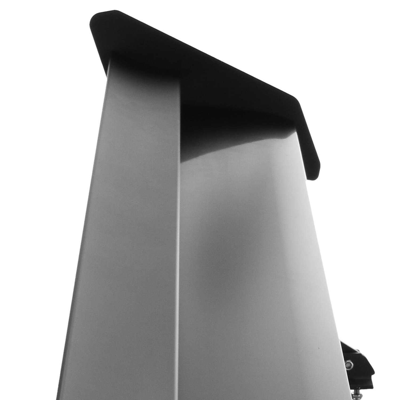 135CM Doble cubierta Guellin 135CM GT Aler/ón Trasero Negro Aler/ón Trasero de Aluminio con Doble Cubierta para Coche Universal con /Ángulos Ajustables