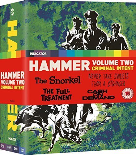 Hammer: Volume Two: Criminal Intent [Blu-ray] (Hammer Horror Blu Ray Collection)