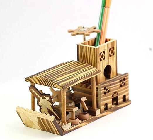 Bolígrafo para manualidades de madera - Caja de almacenamiento de ...