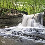 Indiana Wild & Scenic 2020 12 x 12 Inch Monthly Square Wall Calendar, USA United States of America Midwest State Nature