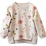 Bambino piccolo Bambini Bambino Ragazze maglione,Yanhoo Floreale Stampa Lungo Manica Caldo Top Maglietta camicette