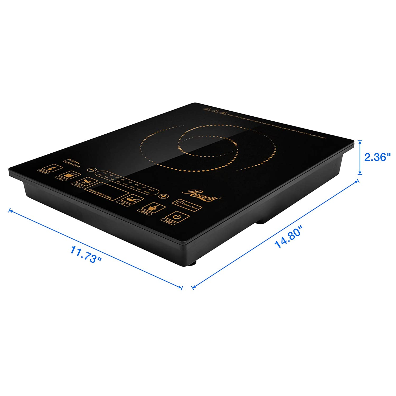 Amazon.com: Rosewill Placa de inducción, Cocina de inducción ...