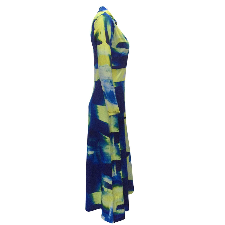 Amazon.com: Eloise Isabel Fashion Mulheres Vestido de Verão Longa Túnica Sexy Retro Vintage Boho Geométrica Impresso Clube Casual Vestidos: Clothing