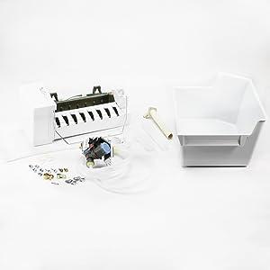 Whirlpool W10315447 Refrigerator Ice Maker Assembly Genuine Original Equipment Manufacturer (OEM) Part
