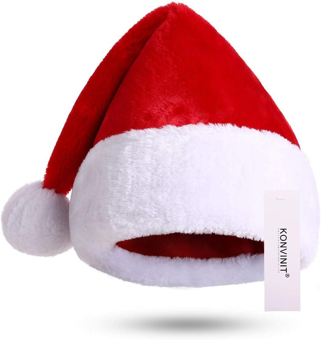 KONVINIT Gorro Navideño para Niño Gorro Santa Claus Gorro de Papá Noel Bambino Roja para niños Chica Sombrero Gorras Padre: Amazon.es: Juguetes y juegos
