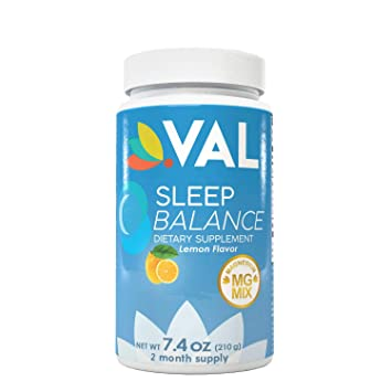 Magnesium, Melatonin and L-Theanine Sleep Aid & Nighttime Cramp Relief Supplement with Naturally
