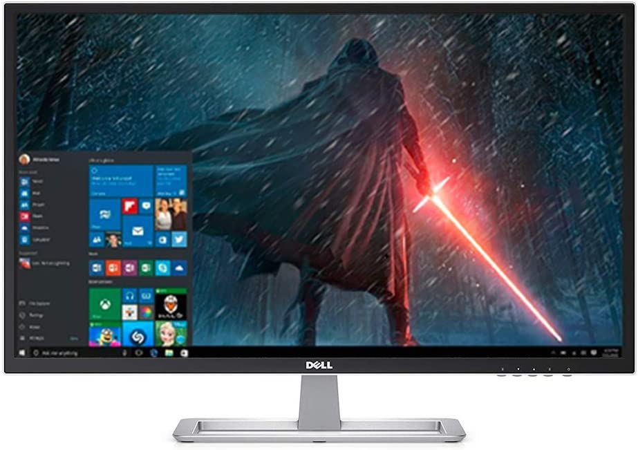 "2019 Dell High Performance Business Flagship Monitor 32"" Full HD 1920x1080 LED Display VESA Ultra-Wide 178/178 Viewing Angle 3000:1 Static Contrast Ratio"