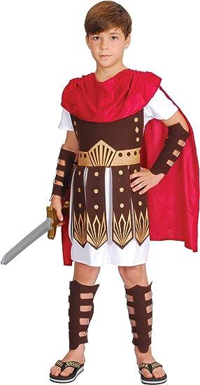 amscan - Disfraz de gladiador romano para niños: Amazon.es ...