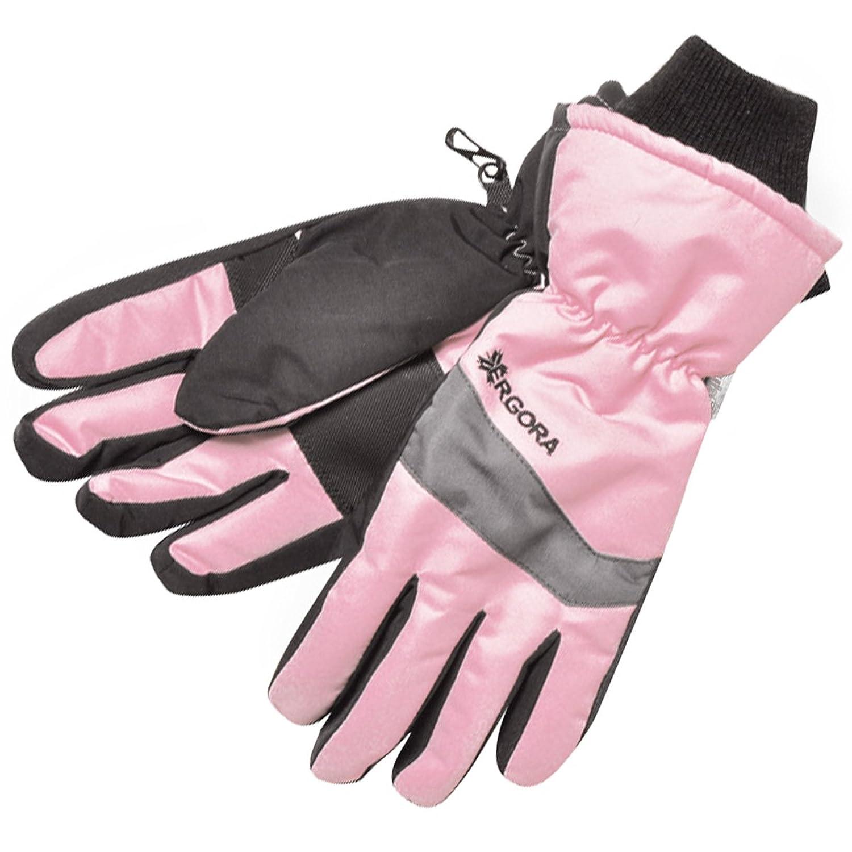 Ergora Kinder Skihandschuhe Thinsulate™ 40 Gram wasserdicht Fingerhandschuhe 2 Farben 3 Gr. 4 - 6