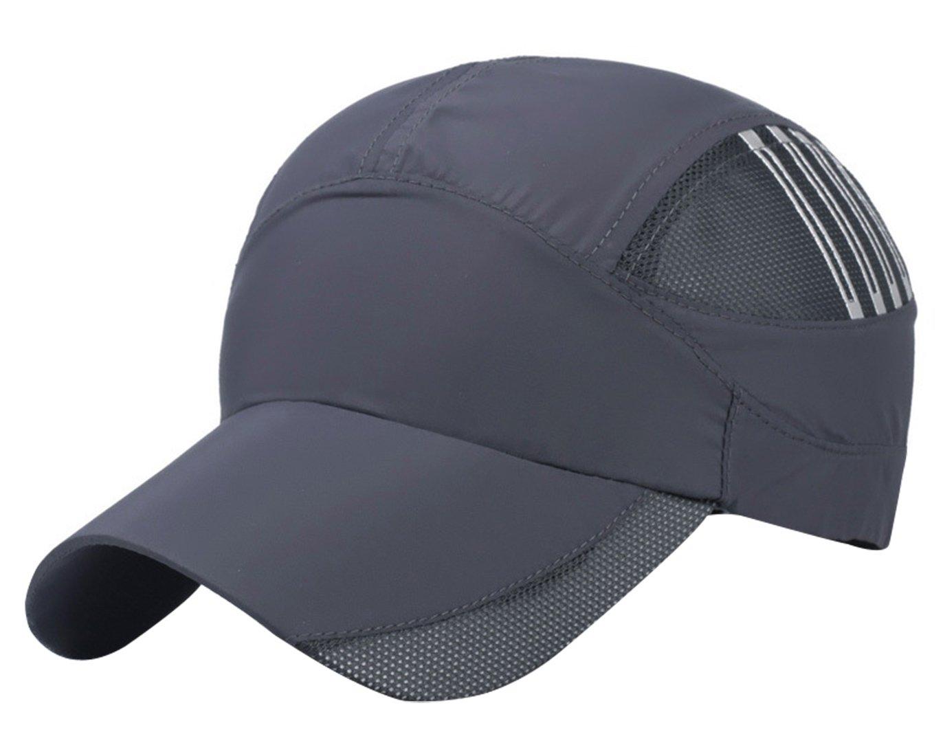 Amazon.com  Aivtalk Stripes Summer Baseball Cap Quick Dry Cooling Sun Hats  Flexfit Sports Caps Mesh Hat for Golf Cycling Running Fishing Outdoor  Research ... 3d571b281d9