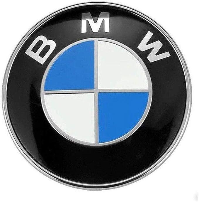 Amazon.com: BMW Emblem Hood and Trunk 82mm 3.2 inch Badge Logo Replacement for ALL Models BMW E30 E36 E46 E34 E39 E60 E65 E38 X3 X5 X6 3 4 5 6 7 8: Automotive