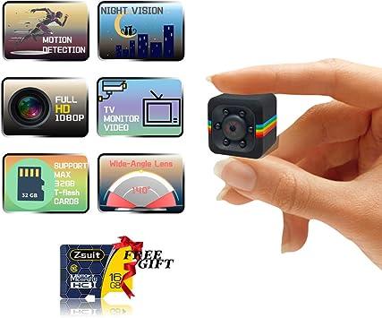 Mini Wireless 1080P Spy Hat Hidden spy camera Cam Video Recorder 8GB Memory