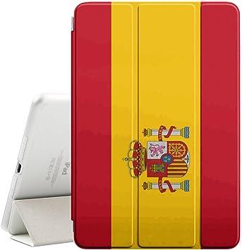 STPlus España Bandera española Funda Carcasa con Stand Función y Imán Incorporado para el Sueño/Estela para Apple iPad Mini 1/2 / 3: Amazon.es: Electrónica