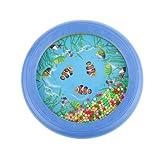 MagiDeal Blue Ocean Wave Bead Drum Sea Wonders Musical Educational Toys for Children