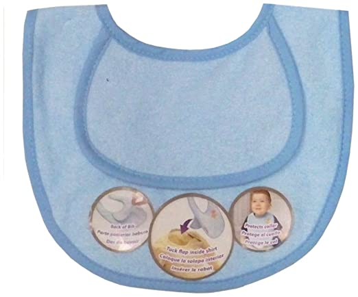 Tuckaroo Bib Set, Boy, Infant, 2-Count (Discontinued by Manufacturer)